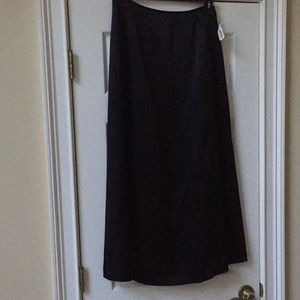 New/With Tags Long/floor length satin lined skirt